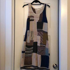 EUC Anthropologie Pattern Sweater dress, sz M
